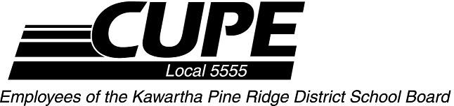 CUPE 5555-Education Workers of the Kawartha Pine Ridege District School Board